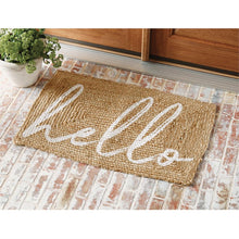 Load image into Gallery viewer, Hello Jute DoorMat