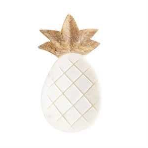 Pineapple Marble Spoon Rest