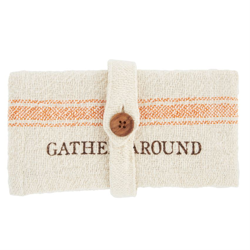 Gather Grain Sack Napkin Set