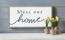 Load image into Gallery viewer, Bless Our Home Plaque