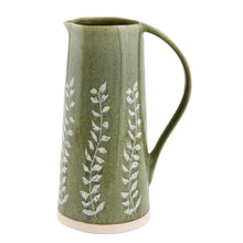 Load image into Gallery viewer, Green Leaf Pitcher