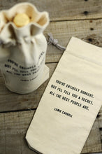 Load image into Gallery viewer, Quote Wine Bag