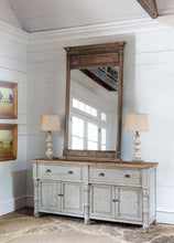 Load image into Gallery viewer, Painted French Buffet W/ Reclaimed Top