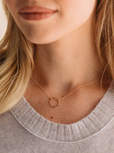 Floating Shape Necklace