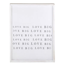 Load image into Gallery viewer, Framed Love Big Wood Sign
