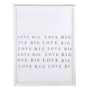 Framed Love Big Wood Sign