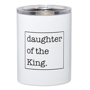 Daughter Of The King Steel Tumbler