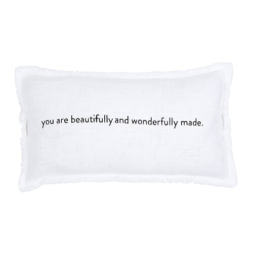 Wonderfully Made Down Lumbar Pillow