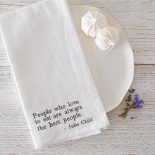 Load image into Gallery viewer, Julia Child Napkin Set