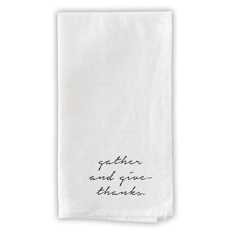 Gather And Give Thanks Napkins
