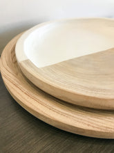 Load image into Gallery viewer, Wood + White Paulownia Tray