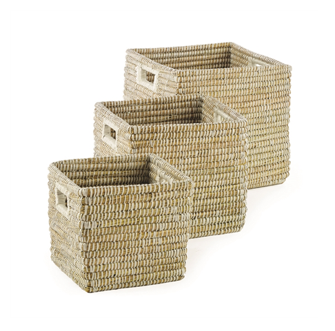 RiverGrass Square Basket