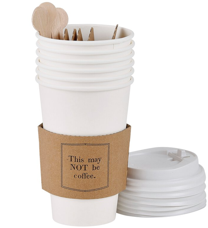 Disposable Coffee Cup - May Not be Coffee