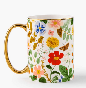 Strawberry Fields Porcelain Mug