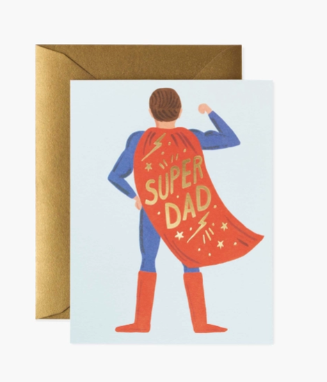 Super Dad Card // Father's Day Card