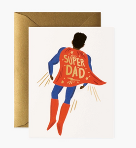 Soaring Super Dad // Father's Day Card