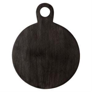 Black Acacia Wood Tray/Cutting Board