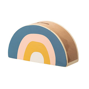 Wooden Rainbow Bank