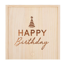Load image into Gallery viewer, Happy Birthday Wood Box