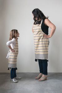 Mommy and Me Apron With Tassels