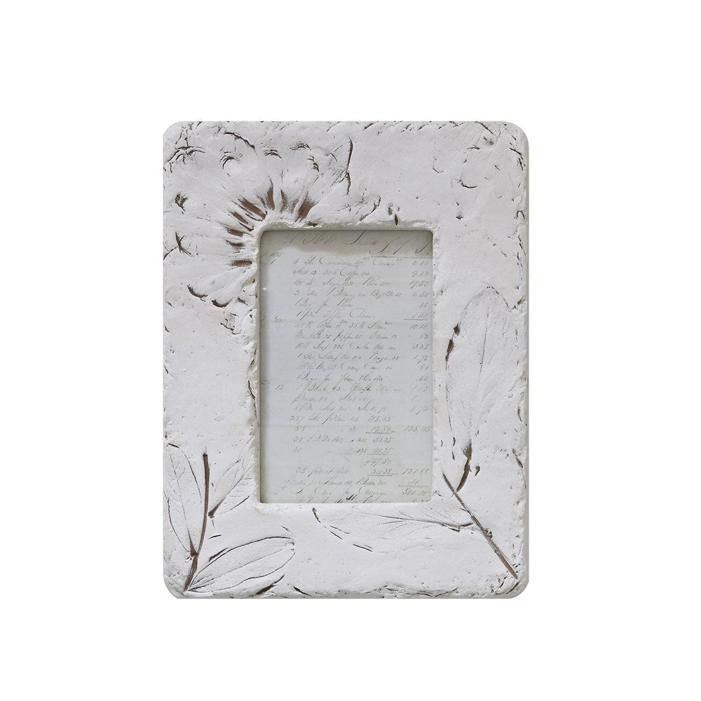 Embossed Wildflowers Photo Frame 4x6