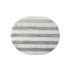 Grey + White Marble Cheese/Cutting Board