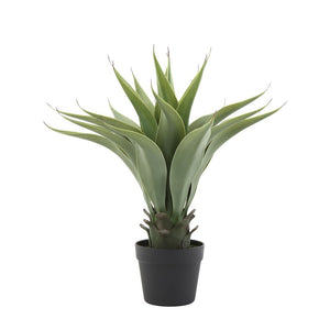 Faux Agave Plant in Pot