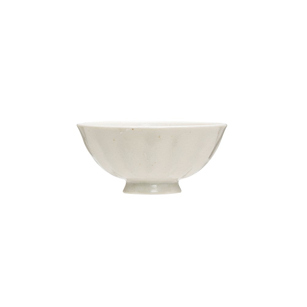 White Porcelain Latte Bowl