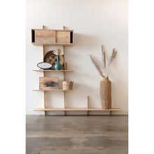 Load image into Gallery viewer, Mango Wood Customizable Wall Unit
