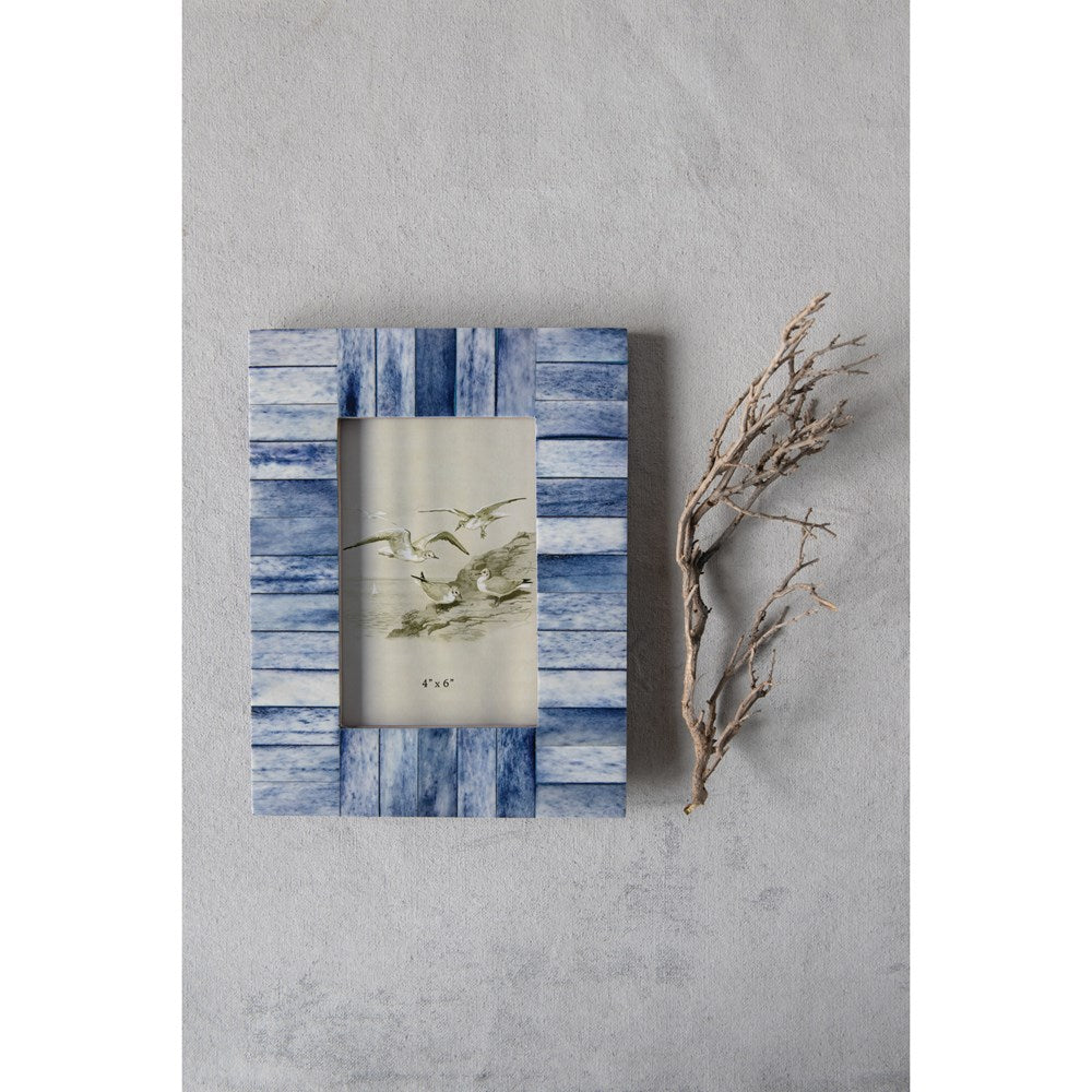 Blue Bone Photo Frame