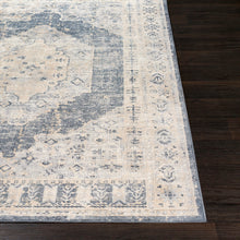 Load image into Gallery viewer, Taupe, Charcoal, & White Rug