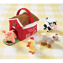 Load image into Gallery viewer, Farm House Plush Set