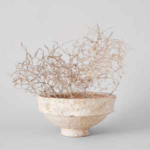 Decorative Paper Mache Bowl