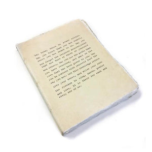 Deckled Edge Notebook