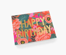 Load image into Gallery viewer, Poppy Birthday Card