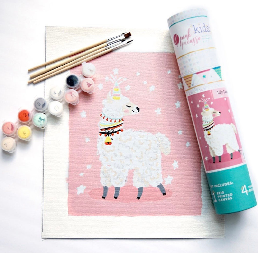 Paint By Numbers Kit: Lily Llammacorn