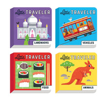 Load image into Gallery viewer, Little Traveler Board Book Set