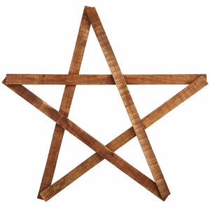 Mango Wood Star