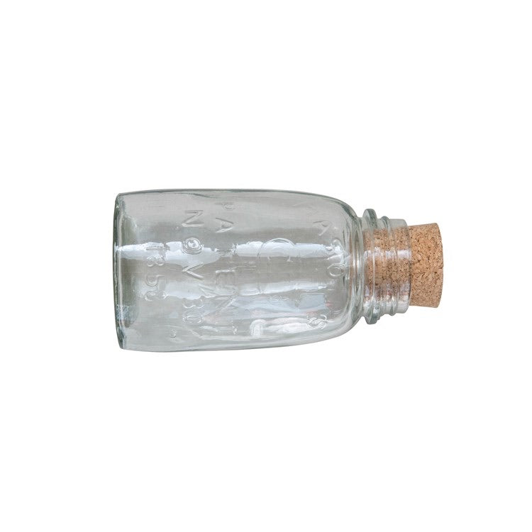 Glass Bottle w/ Cork