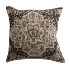 "Load image into Gallery viewer, Cotton Chenille Pillow- 18""x 18"""