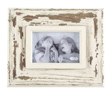 Load image into Gallery viewer, Weathered White Wood Frame