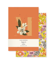 Load image into Gallery viewer, Monogram Floral Mini Journal Set