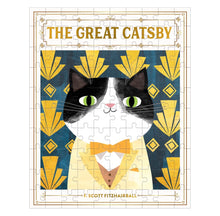 Load image into Gallery viewer, The Great Catsby Bookish Cats Puzzle