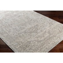 Load image into Gallery viewer, Medium Gray & White Rug