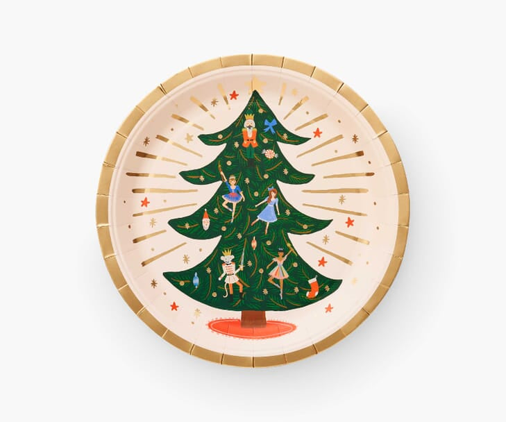 Nutcracker Holiday Paper Plates