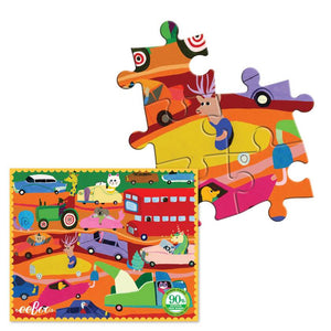 Eeboo Mini Puzzle- 36 Pieces