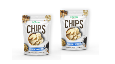 Dua pouches 65gr CHIPS BLACK PEPPER