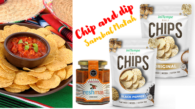 Chip and Dip set Sambal Matah Bali