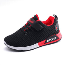 Load image into Gallery viewer, Children Sports Shoes Black & White