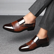 Load image into Gallery viewer, Formal wedding shoes men 2020 brown
